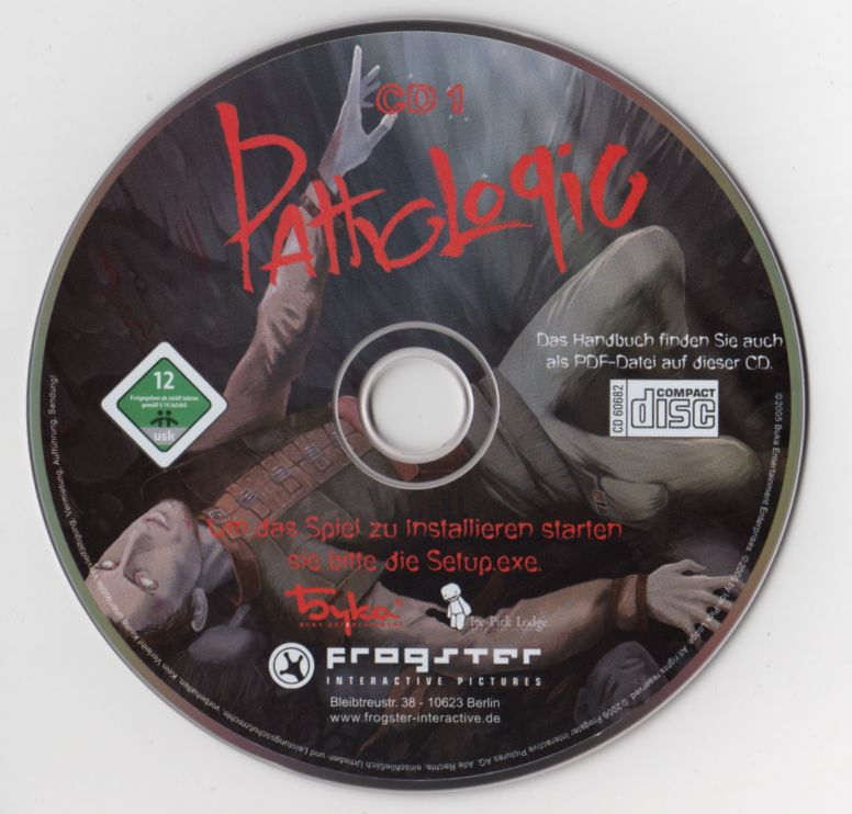 Pathologic Windows Media Disc 1