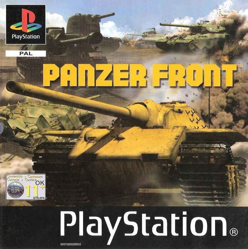 Panzer Front PlayStation Front Cover