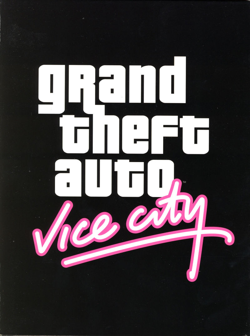 Grand Theft Auto: Vice City Windows Inside Cover Digipak - Front
