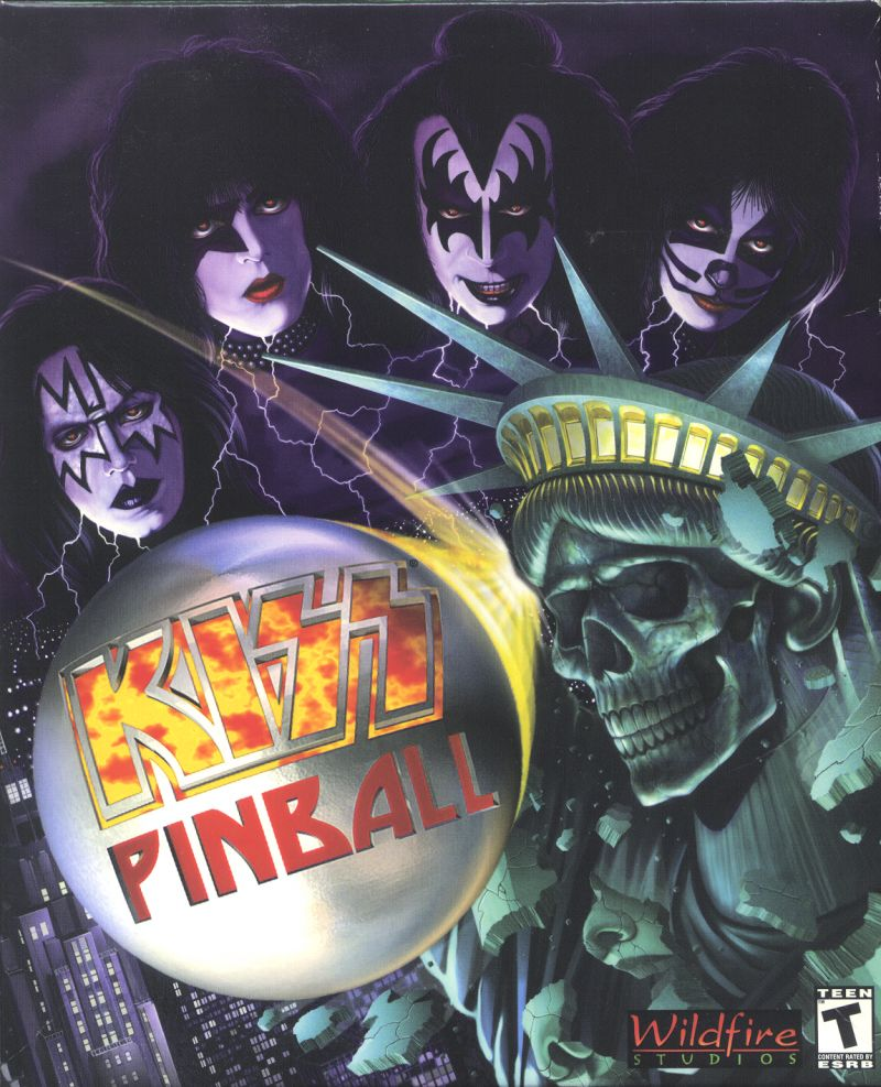 Kiss Pinball Windows Front Cover
