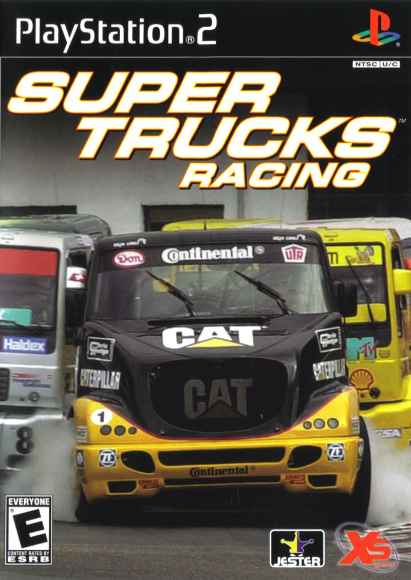 Super Trucks Racing PlayStation 2 Front Cover