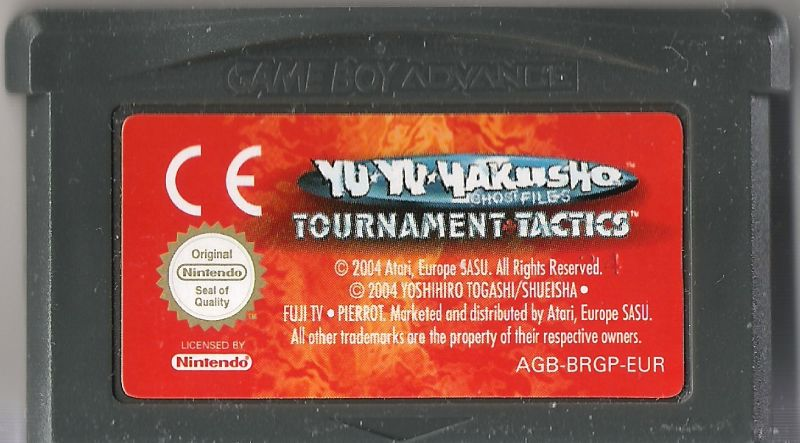 Yu Yu Hakusho: Ghost Files - Tournament Tactics Game Boy Advance Media