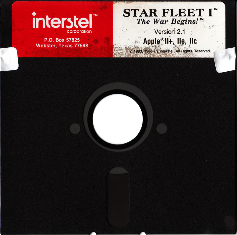 Star Fleet I: The War Begins! Apple II Media