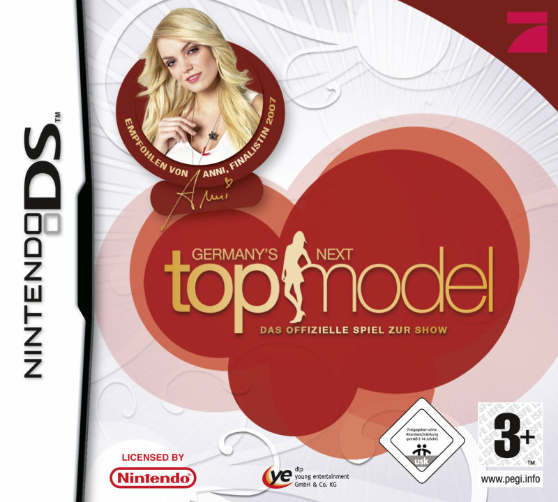 Germany's Next Topmodel Nintendo DS Front Cover