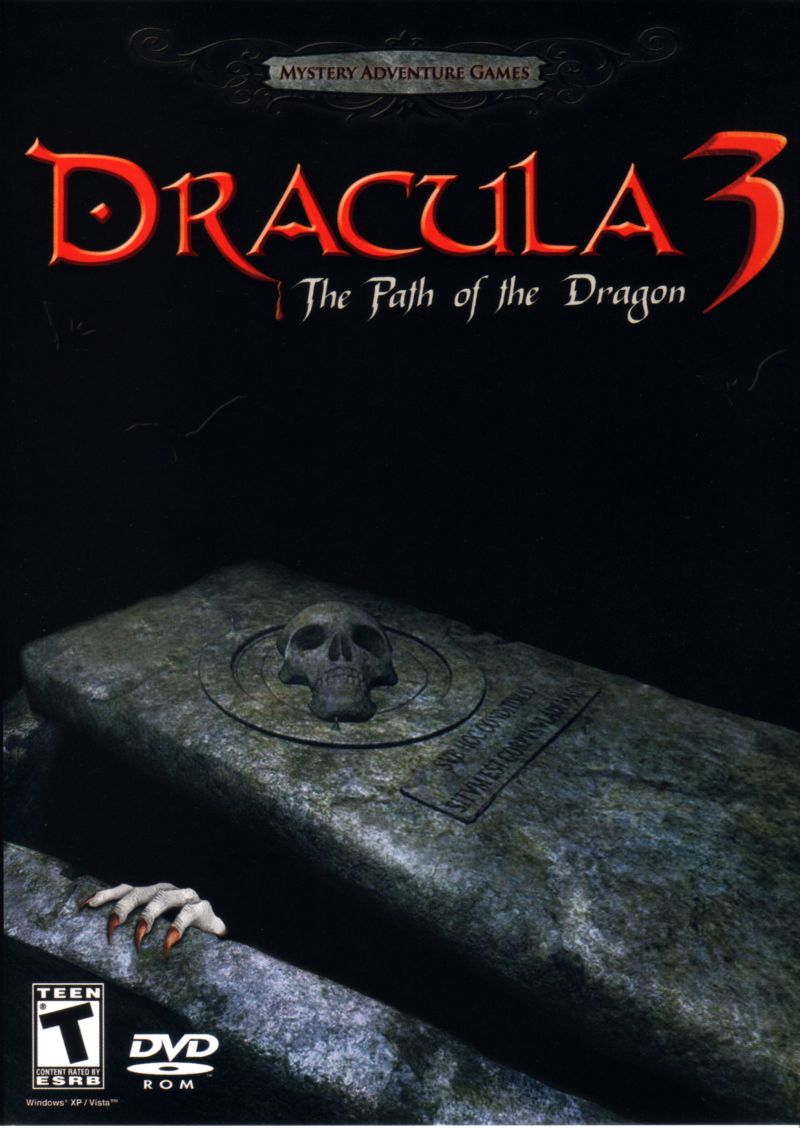 Dracula 3: The Path of the Dragon Windows Front Cover