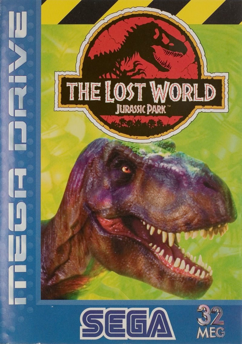 The Lost World: Jurassic Park Genesis Front Cover