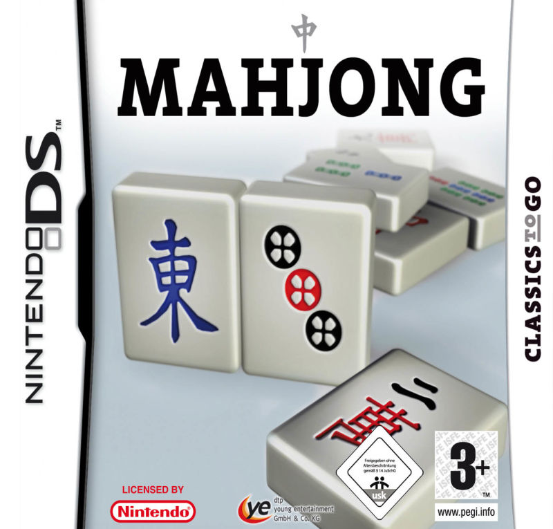 Mahjong Nintendo DS Front Cover