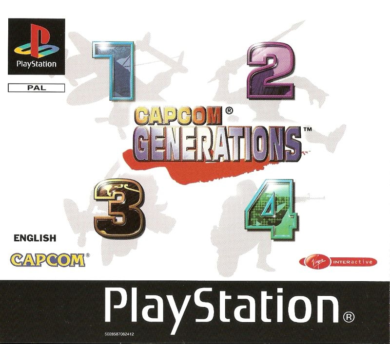 Capcom Generations PlayStation Front Cover