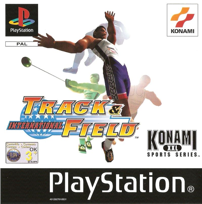 International Track & Field PlayStation Front Cover