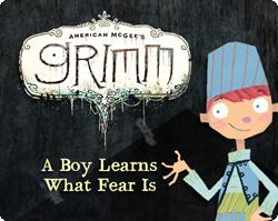 American McGee's Grimm: A Boy Learns What Fear Is Windows Front Cover