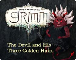 American McGee's Grimm: The Devil and His Three Golden Hairs Windows Front Cover