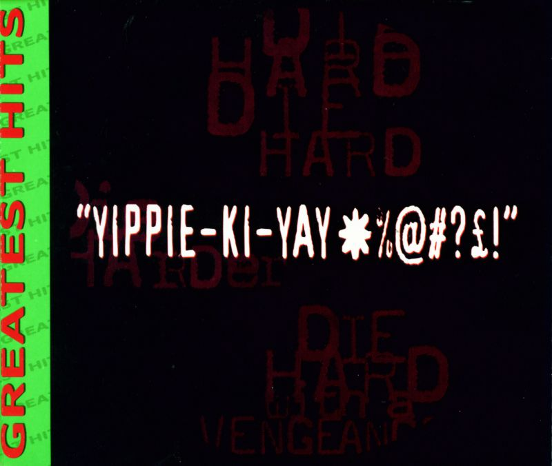 Die Hard Trilogy PlayStation Inside Cover Right Inlay
