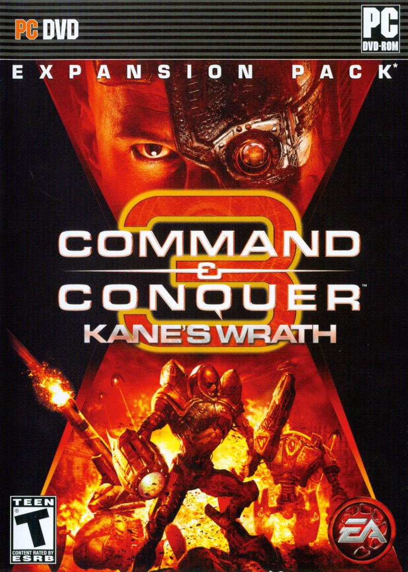 Command & Conquer 3: Kane's Wrath Windows Front Cover
