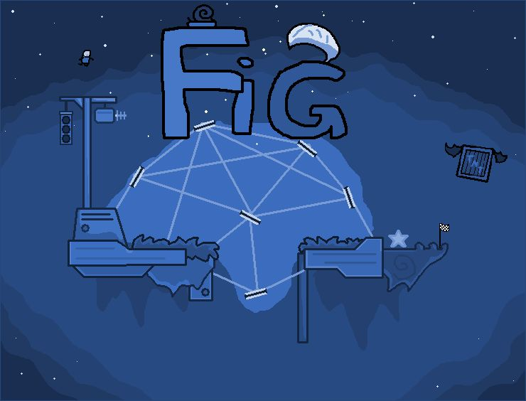 Floating Islands Game Windows Front Cover