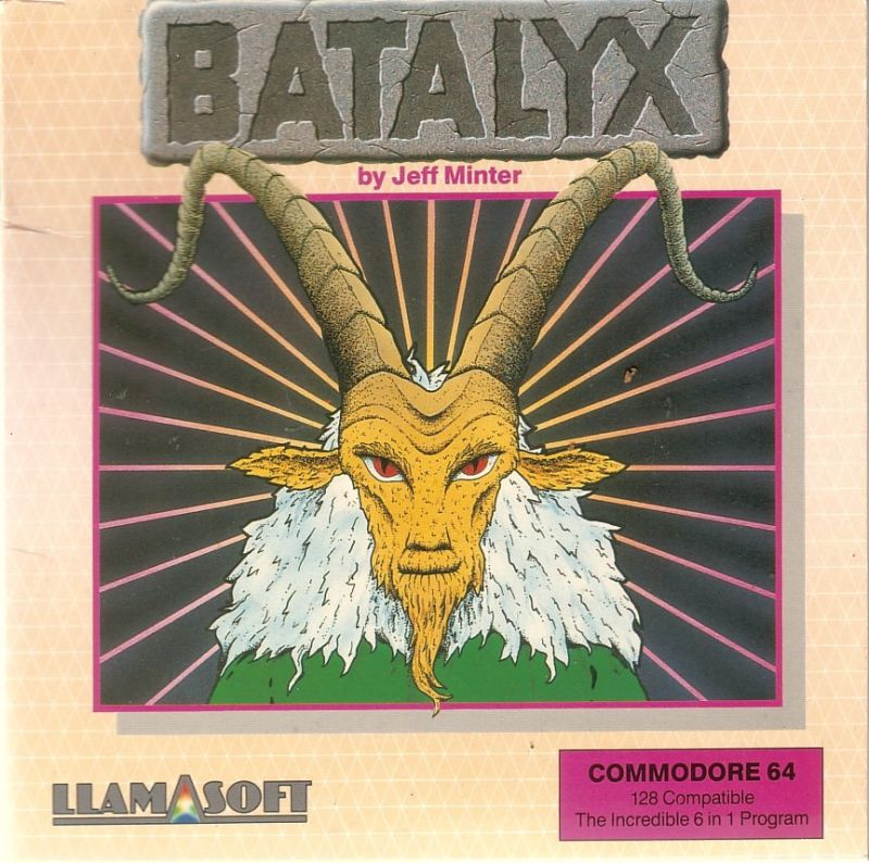 Batalyx Commodore 64 Front Cover