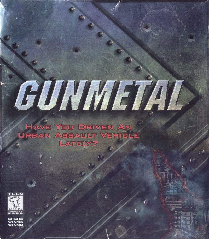 Gunmetal DOS Front Cover