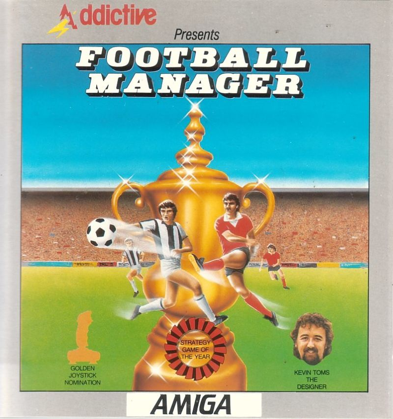 Football Manager Amiga Front Cover