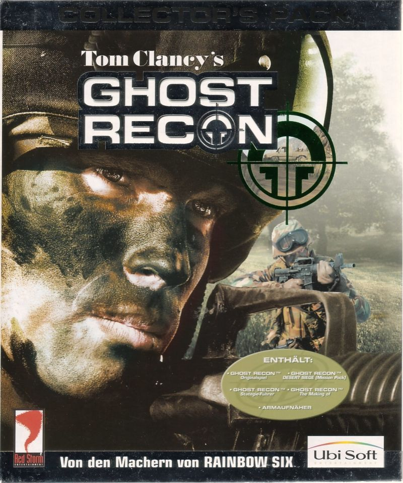 Tom Clancy's Ghost Recon (Collector's Pack) Windows Front Cover