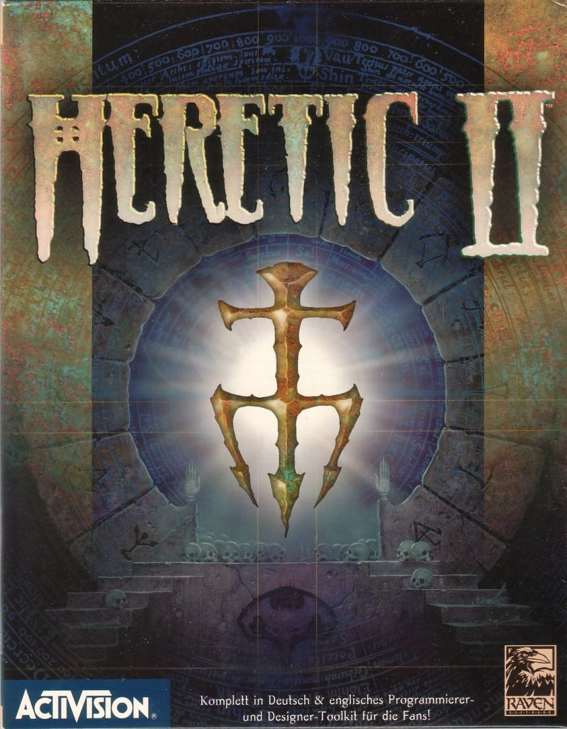 Heretic II Windows Front Cover