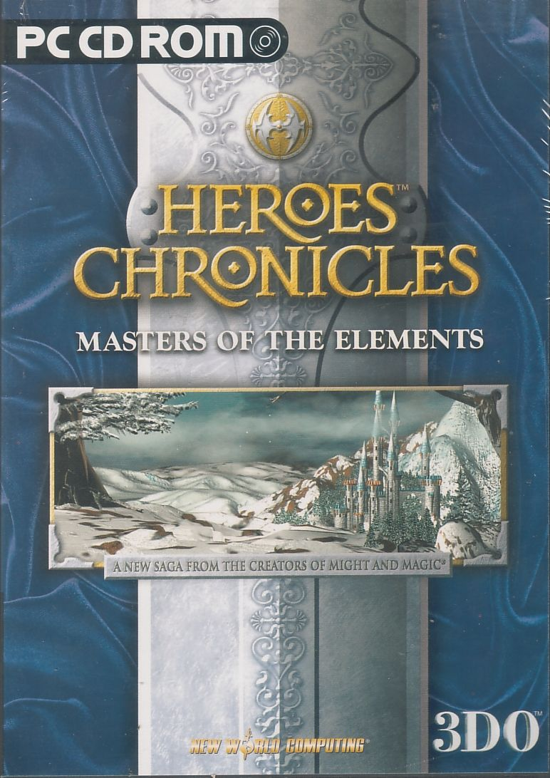 Heroes Chronicles: Masters of the Elements Windows Front Cover