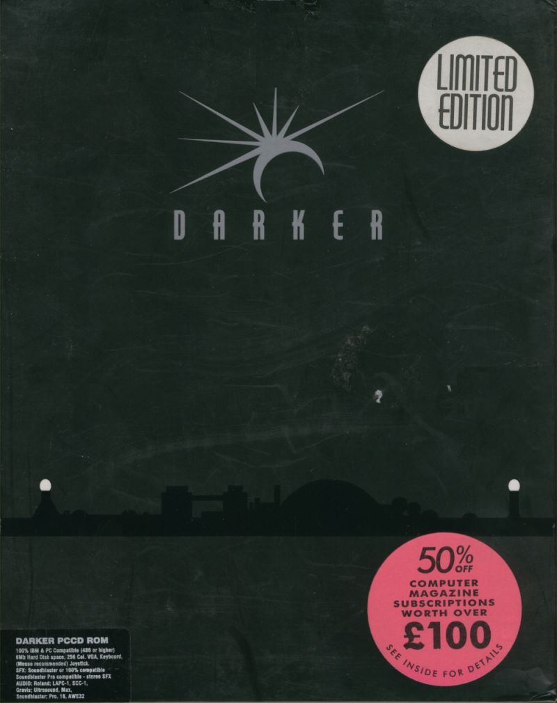 Darker DOS Front Cover