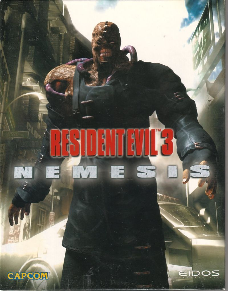 Resident Evil 3: Nemesis Windows Front Cover
