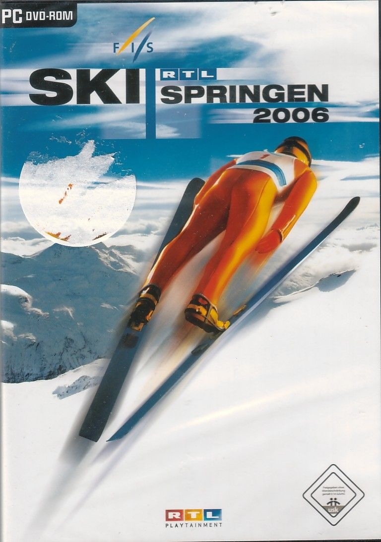 RTL Skijumping 2006 Windows Front Cover