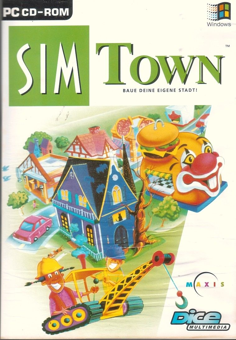 SimTown Windows Front Cover