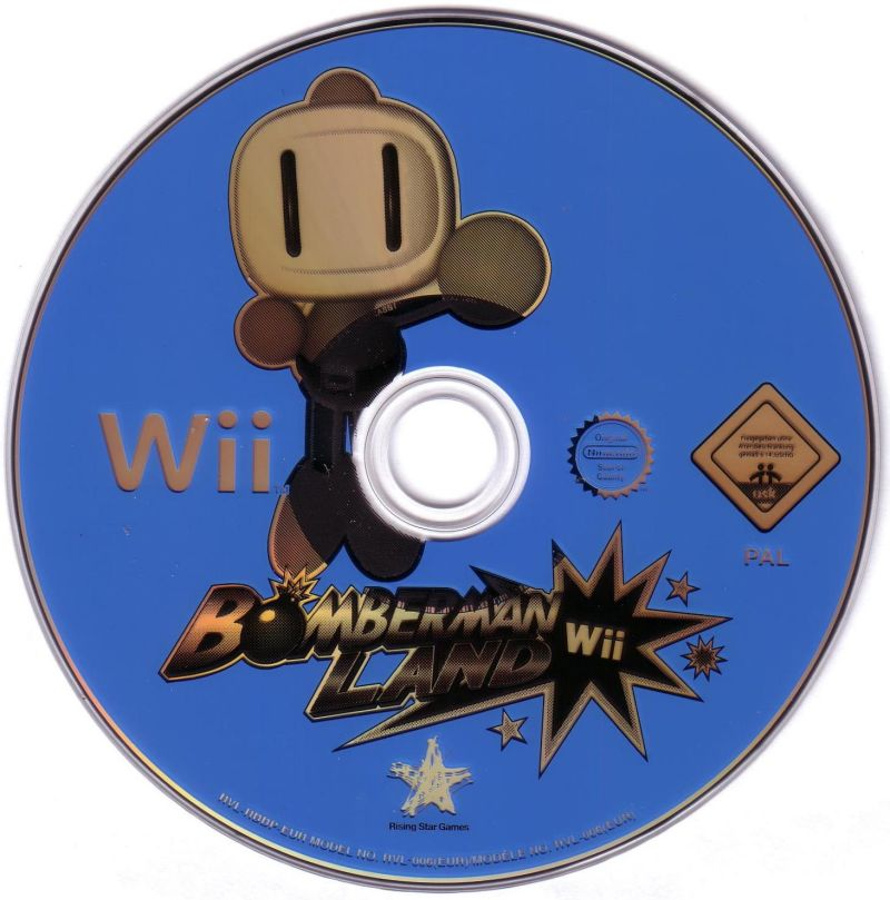Bomberman Land Wii Media