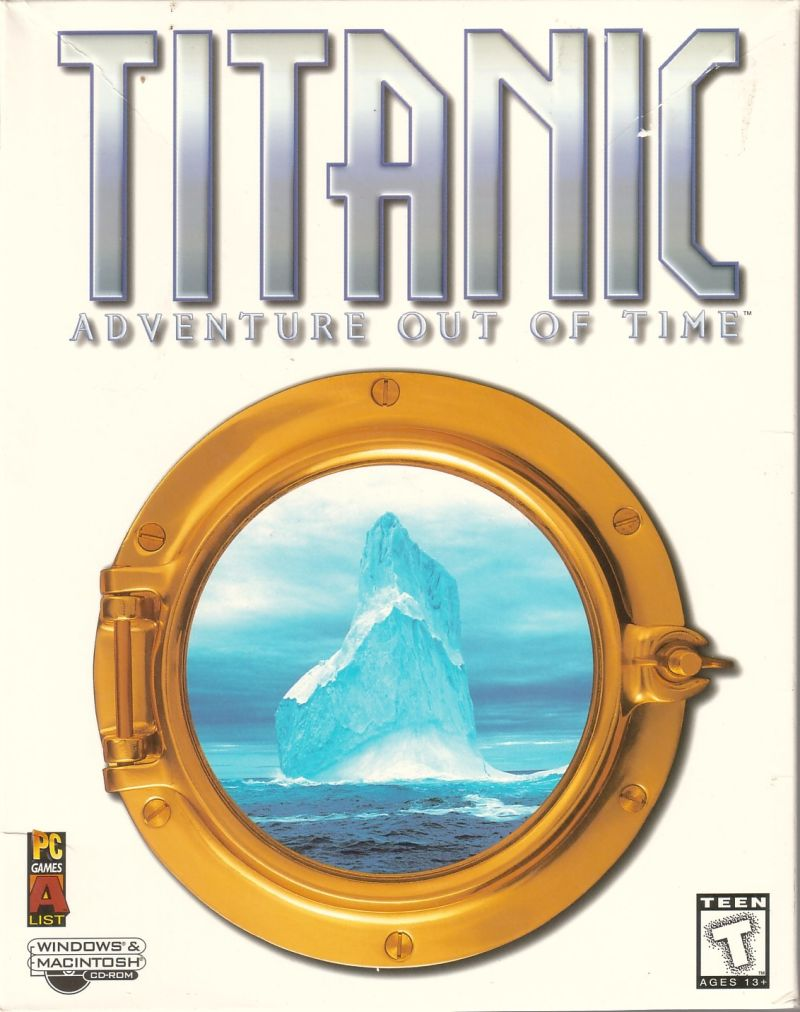 Titanic: Adventure Out of Time Macintosh Front Cover
