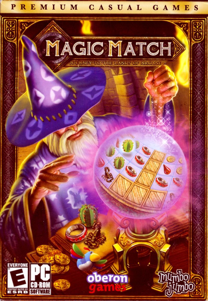 Magic Match: Journey to the Lands of Arcane Windows Front Cover