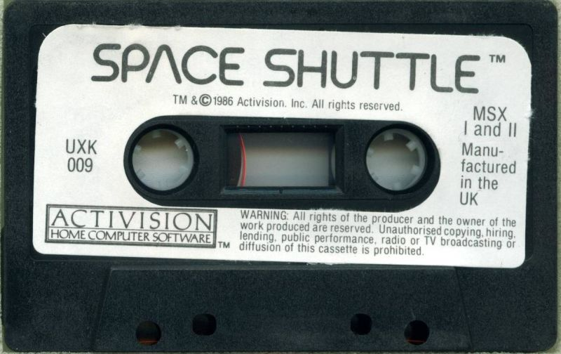 Space Shuttle: A Journey into Space MSX Media