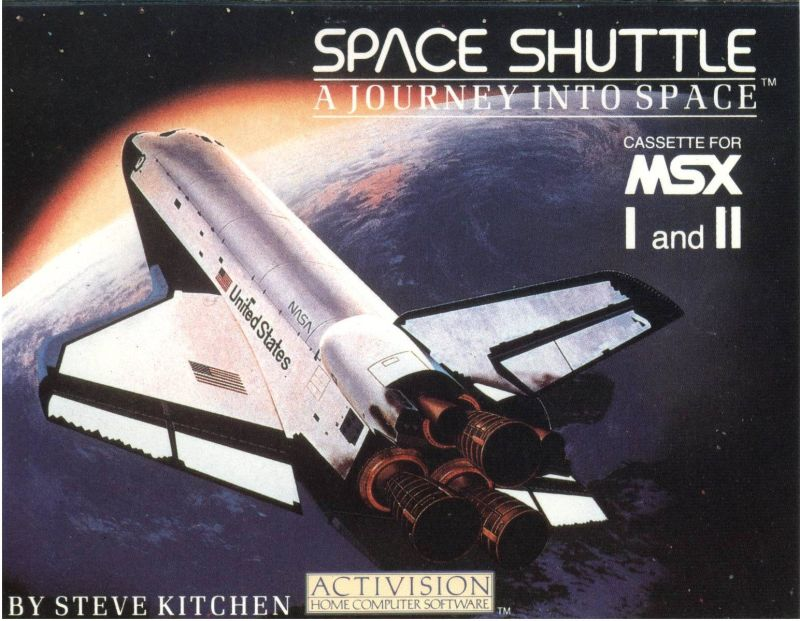 Space Shuttle: A Journey into Space MSX Front Cover