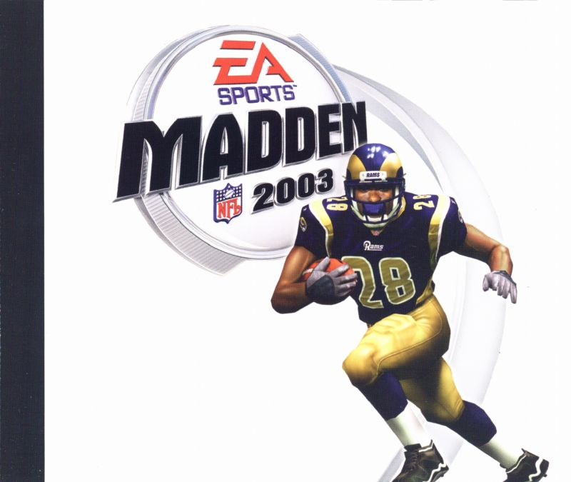 Madden NFL 2003 Windows Other Jewel Case - Insert