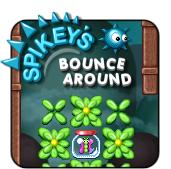 Spikey's Bounce Around Browser Front Cover