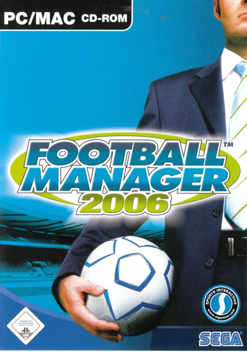 Worldwide Soccer Manager 2006 Macintosh Front Cover