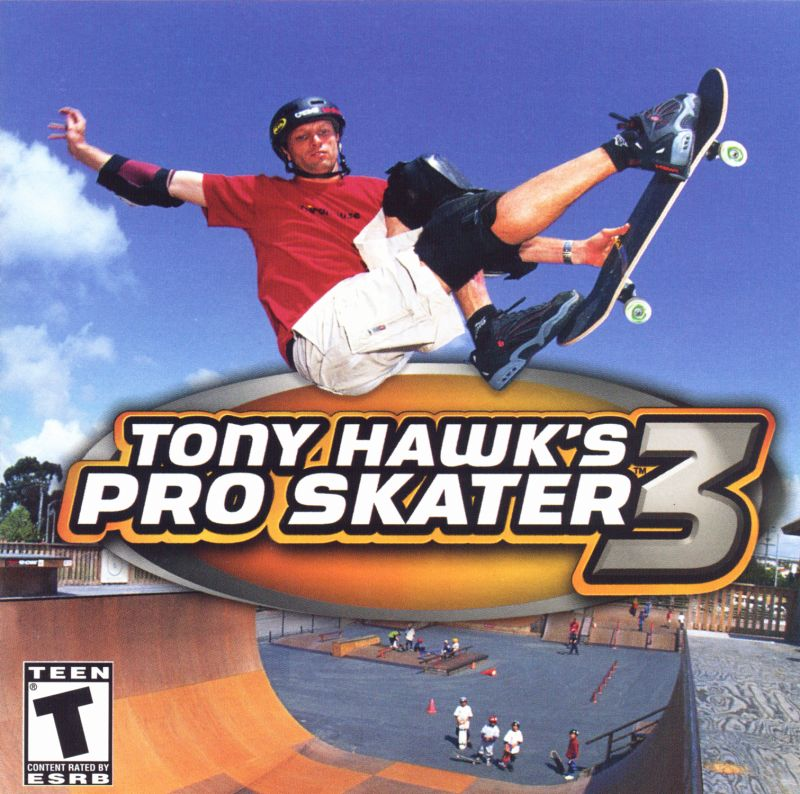 Tony Hawk's Pro Skater 3 Windows Other Jewel Case Front