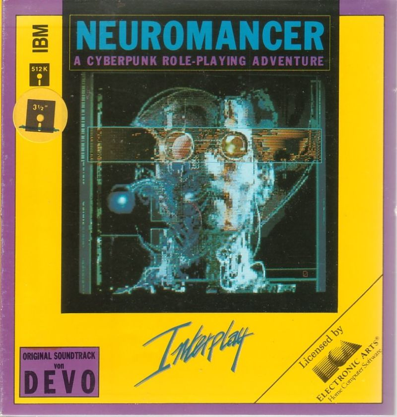 Neuromancer DOS Front Cover