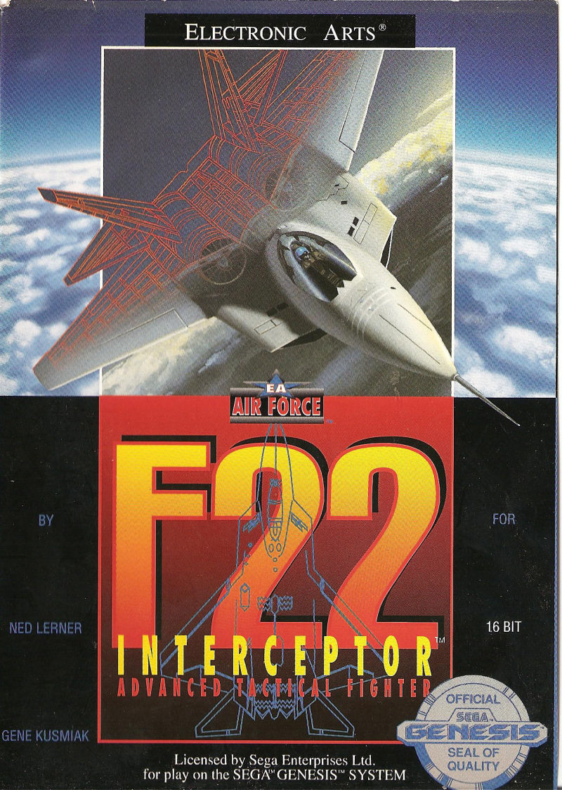 F-22 Interceptor Genesis Front Cover