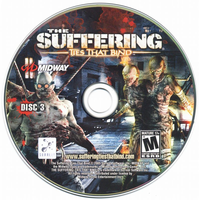 The Suffering: Ties That Bind (2005) PlayStation 2 Box