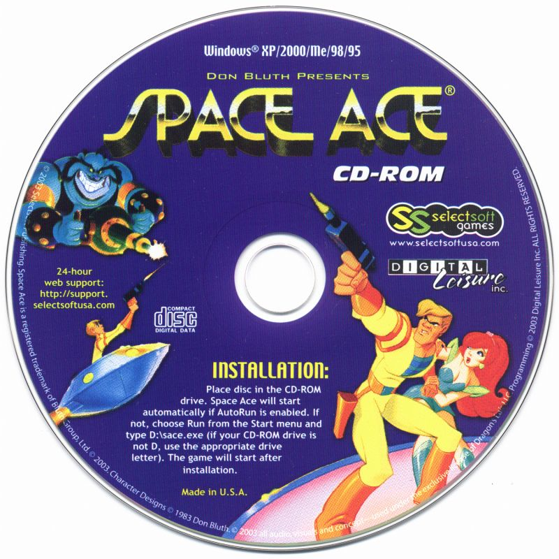 Space Ace Windows Media