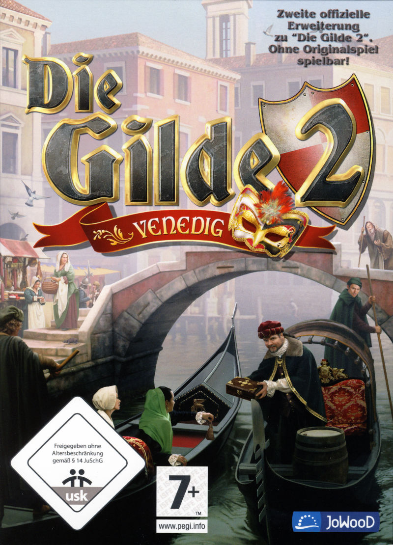 The Guild 2: Venice Windows Front Cover