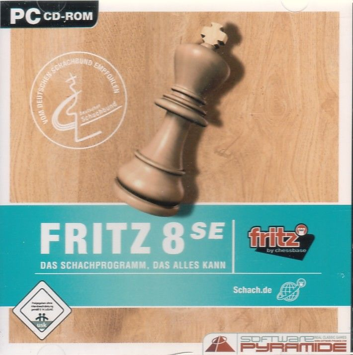 Fritz 8 Windows Front Cover