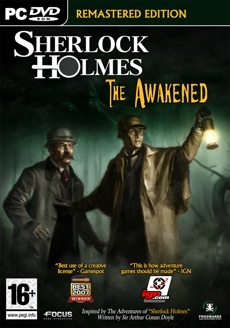 Sherlock Holmes: The Awakened (Remastered Edition) Windows Front Cover