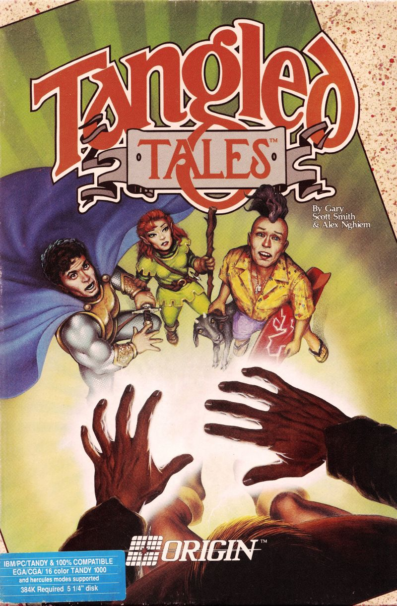 Tangled Tales DOS Front Cover