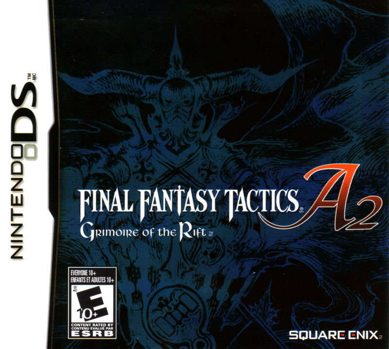 Final Fantasy Tactics A2: Grimoire of the Rift Nintendo DS Front Cover