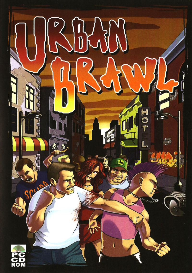 Urban Brawl: Action DooM 2 Windows Front Cover