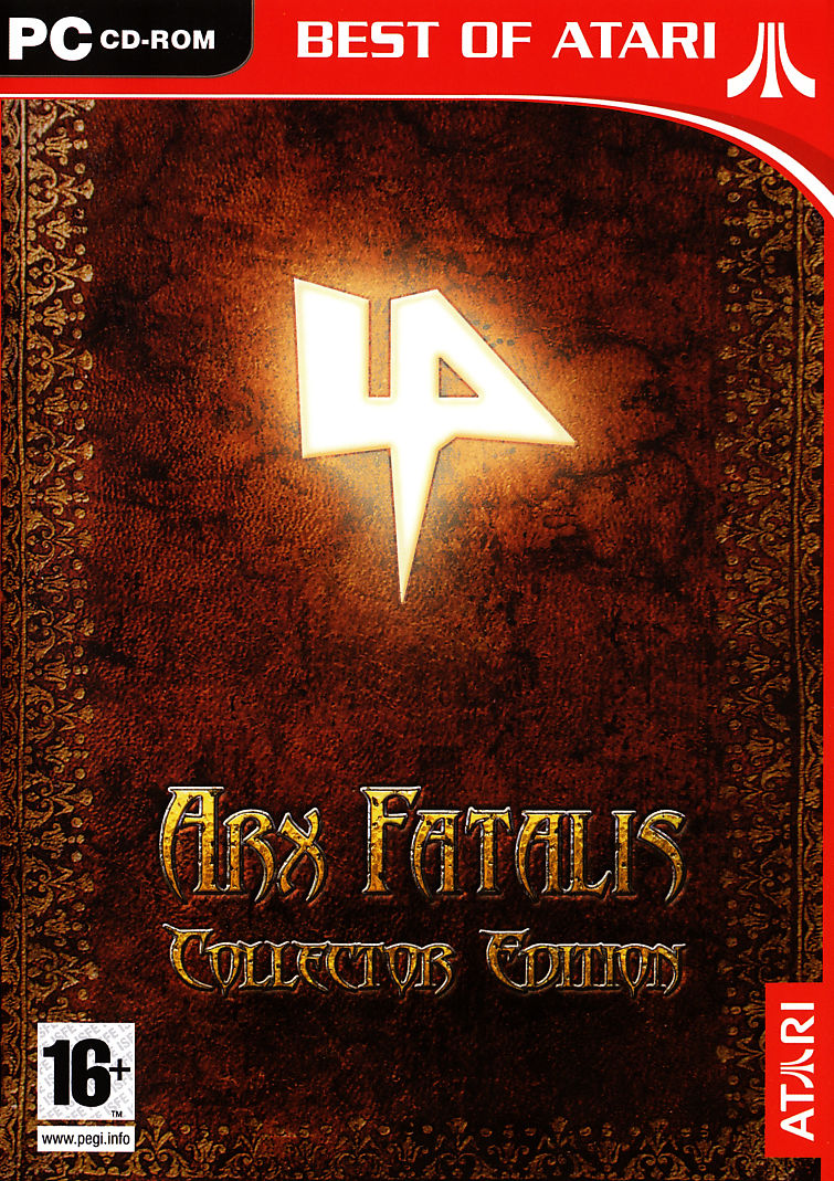 Arx Fatalis (Collector Edition) Windows Front Cover