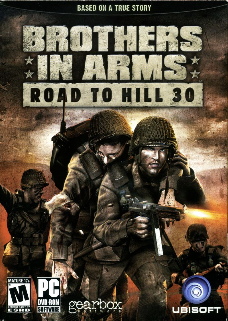 Brothers in Arms: Road to Hill 30 Windows Front Cover