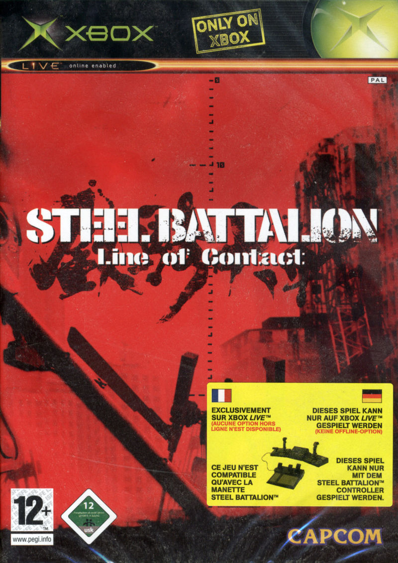 Steel Battalion: Line of Contact Xbox Front Cover